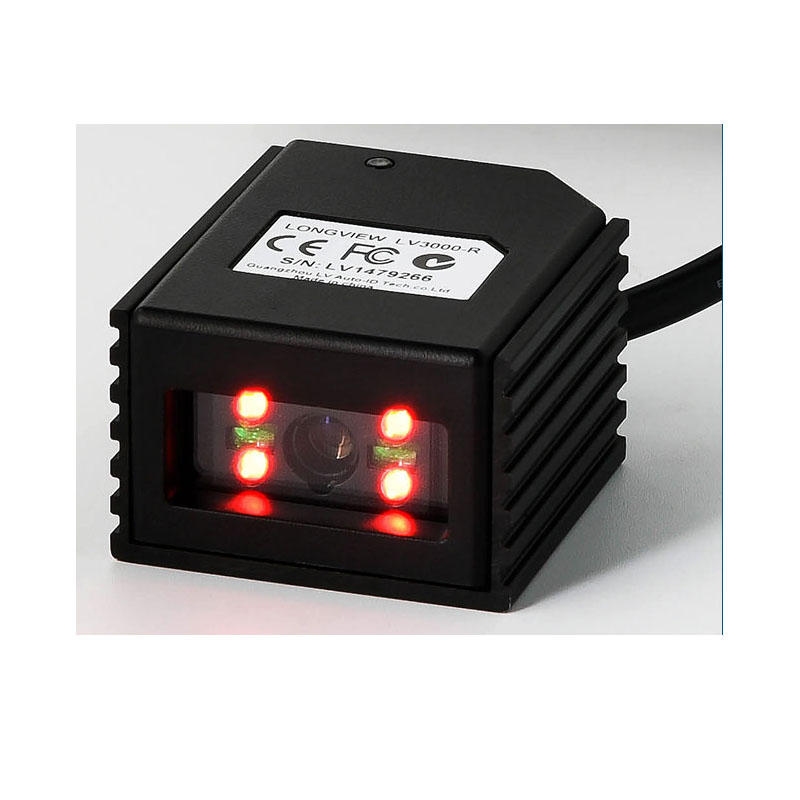 LV3000U 2D फिक्स्ड माउंट बारकोड स्कैनर